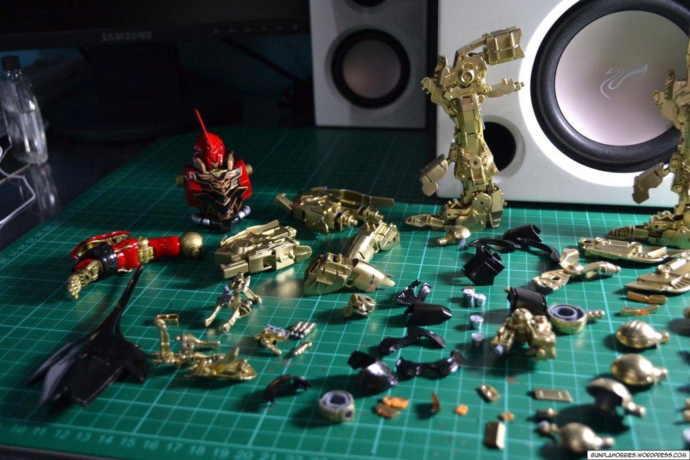 MG 1/100 Sinanju (GaoGao/TT HongLi) (K.-O. kit) (6/6)