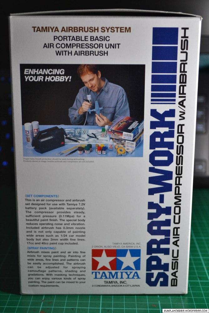 Tamiya Spray-Work Basic Air Compressor w/ Airbrush Review (2/6)