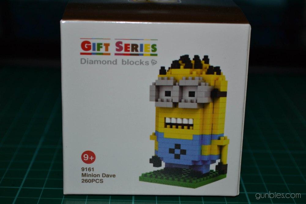 LoZ Gift Series Diamond Blocks: Minion Dave (3/6)
