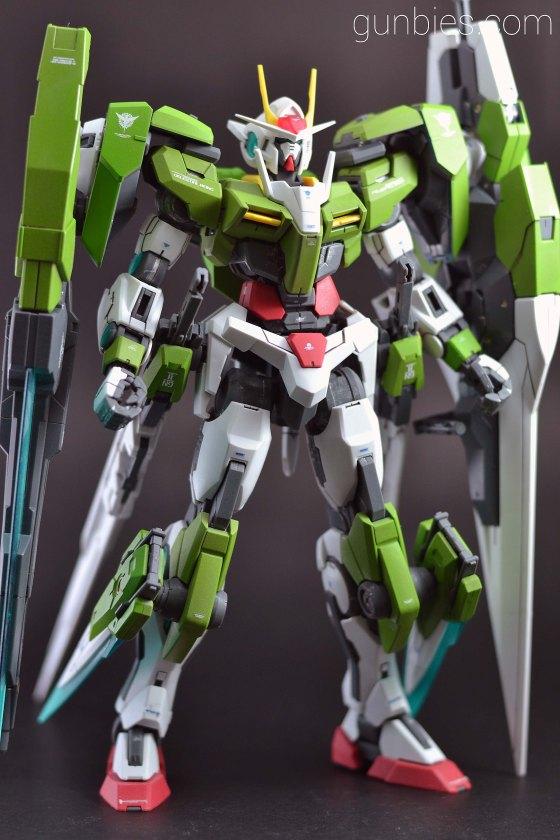 Spray Painting Gundam Models