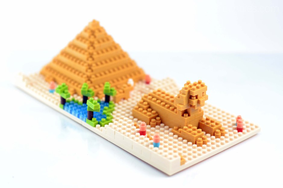 Nanoblocks Great Pyramid Of Giza Gunbies